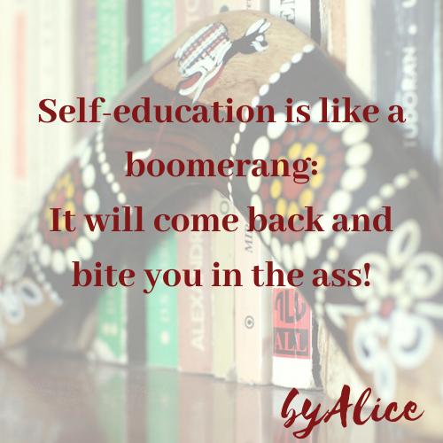 _education as boomerang
